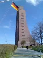 Laboe/10462/das-gigantische-marineehrenmal-in-laboe-an das gigantische Marineehrenmal in Laboe an der Ostsee.In diesem riesigen Turm befinden sich ausgestellte seltene Exponate aus der deutschen Marinegeschichte auch aus dem 1. und 2.Weltkrieg. aufgenommen im März 2008